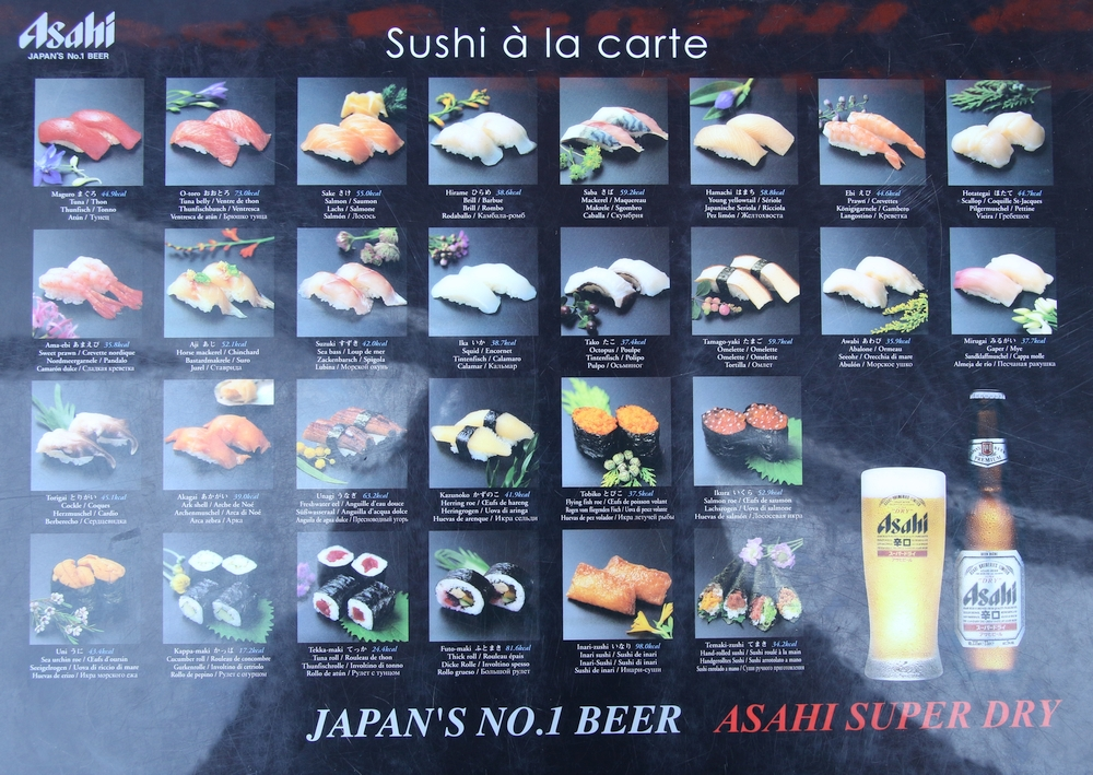Sushi-alacarte